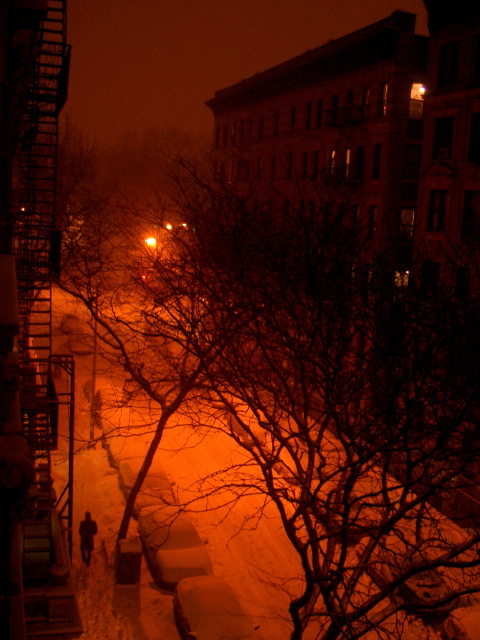 primera noche nevada